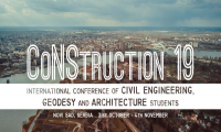 TeamCAD partner of International Conference of Civil Engineering, Geodesy and Architecture students CoNStruction 19