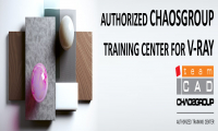 TeamCAD has become an Authorized Chaosgroup training center for V-Ray