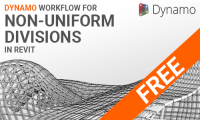 FREE: Dynamo workflow for non-uniform divisions for Revit