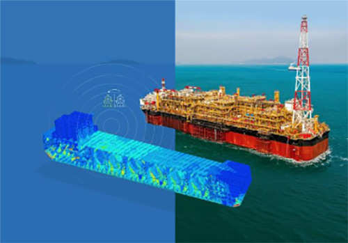 cargo ship CFD simulation